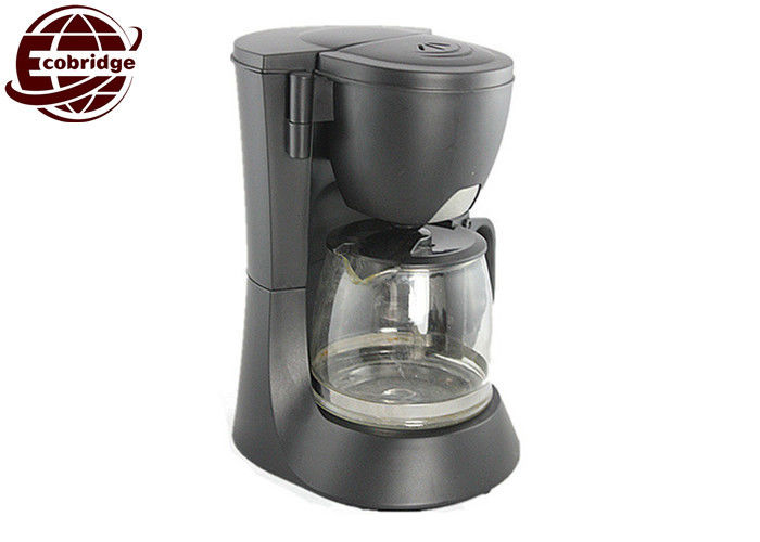 Custom Black Home Coffee Machines 600W 0.6L Drip Electrical With 50-60Hz